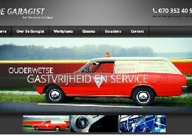 Nieuwe website De Garagist